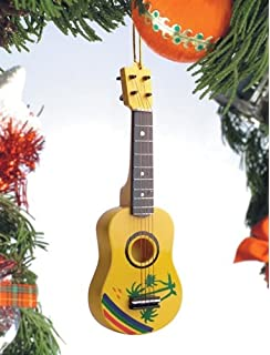 Amazoncom Old World Christmas Ukulele Glass Blown Ornament Home