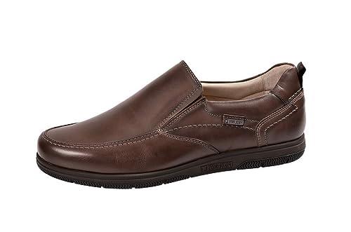 Pikolinos Pikolinos Almeria Schuhe dunkelbraun 08L-6043 - Mocasines para hombre, color marrón, talla 40: Amazon.es: Zapatos y complementos