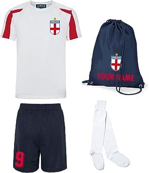 Juego de camiseta de fútbol personalizable para niños, diseño de ...