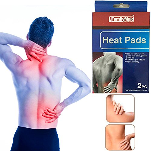 (10 Heat Pads Pain Relief Therapy Press Hot Pack Wrap Air Activated Neck Shoulder)