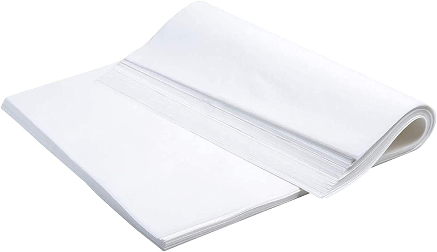 100 Pcs Parchment Paper Baking Sheet Perfect Non-Stick Parchment Sheets for Baking supplies Hot Dog Buns, Air Fryer, Cookie Sheet 12x16 Inch Parchment Paper (white-100)