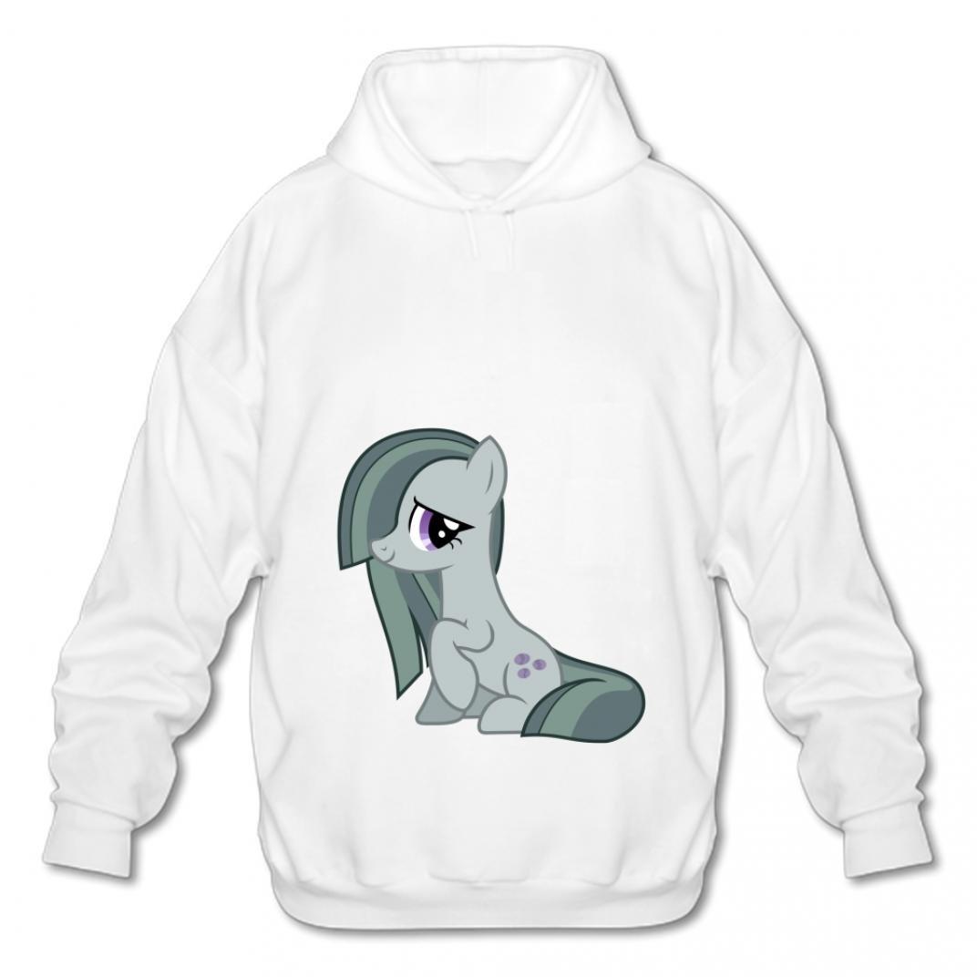 Ankaiqufbv Sweatshirts Style Mens Cotton Pullover Hooded Fashion Hoodies-01 Cartoon Horse WSjn