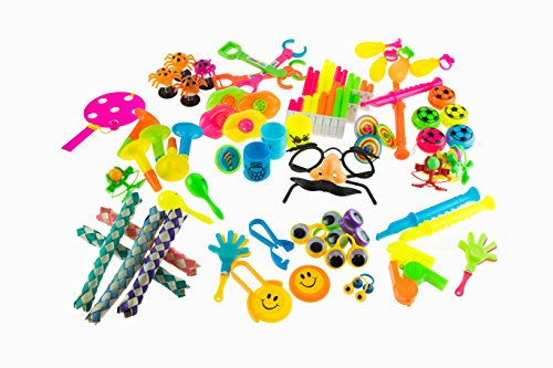Party Favors for Kids Goodie Bags - 120 Pc Party Supplies Bulk Toys Pack for Birthday Goodie Bags Birthday Party Favors Pinata Filler Prizes and More by PartySticks (Image #2)