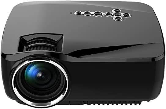 Docooler GP70UP Proyector LED Android Wi-Fi Bluetooth Proyector Smart TV Caja 800LM 800 * 480