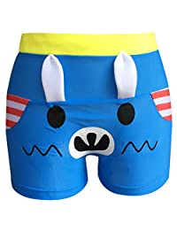 AODEW Cute Cartoon Swim Trunk Swim Shorts for Baby Boys Quick Dry Beach Shorts Swim Trunk Swimsuit