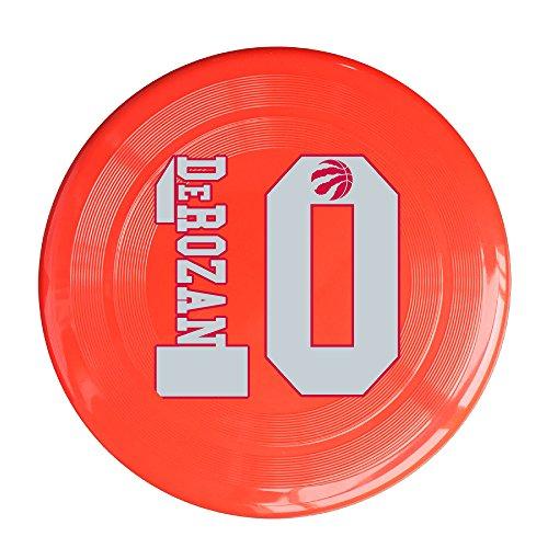 [LINNA Outdoor Game Frisbee Toronto #10 Basketball Player Flying Discs Red] (Matt Barkley Costume)