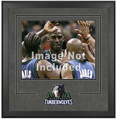 Minnesota Timberwolves Deluxe 16'' x 20'' Frame - Fanatics Authentic Certified - NBA Other Display Cases by Sports Memorabilia