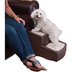 Pet Gear Easy Step-II Stairs for Cats and Dogs Up to 75-Pound, Chocolate