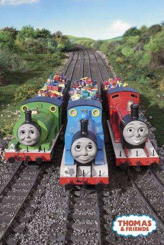 (RhythmHound Thomas The Tank Engine Poster Engine Trio Train)