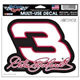 "WinCraft NASCAR Dale Earnhardt Multi-Use Colored Decal, 5"" x 6"""