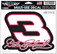 Wincraft NASCAR Dale Earnhardt Multi-Use Colored Decal, 5-Inchx6-Inch