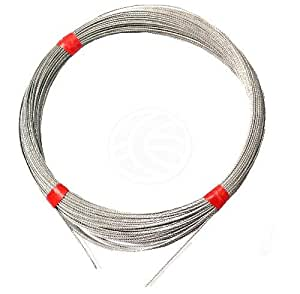 Cablematic - Cable de acero inoxidable de 1,5mm 10m