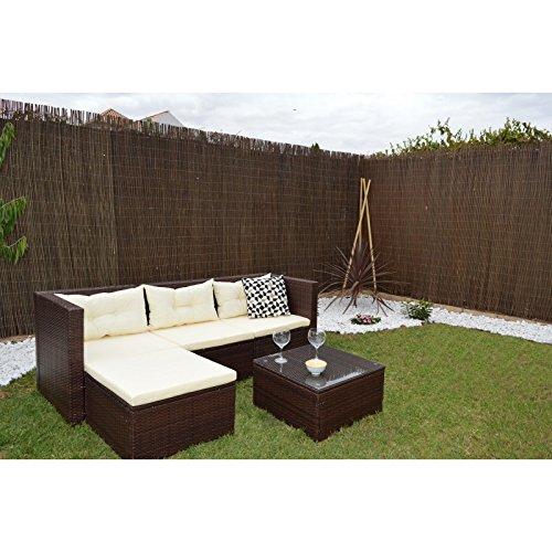 Elizabeth Arden Conjunto Jardín Sofa Modular Incluye Taburete Y ...