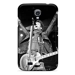 Samsung Galaxy S4 Kib5703Zdbd Allow Personal Design High Resolution Boys Like Girls Band Pattern Shock Absorption Hard Phone Case -AlissaDubois