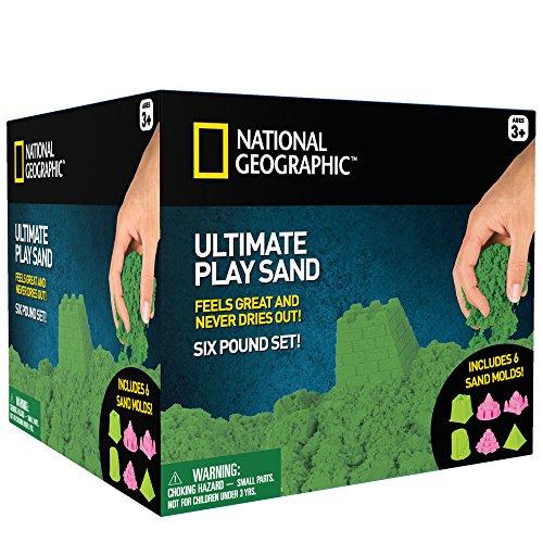 亚马逊的选择!国家地理玩耍沙子20.99美元!