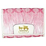 Coach Madison OP Art Pink Wallet 42745B4P1, Bags Central
