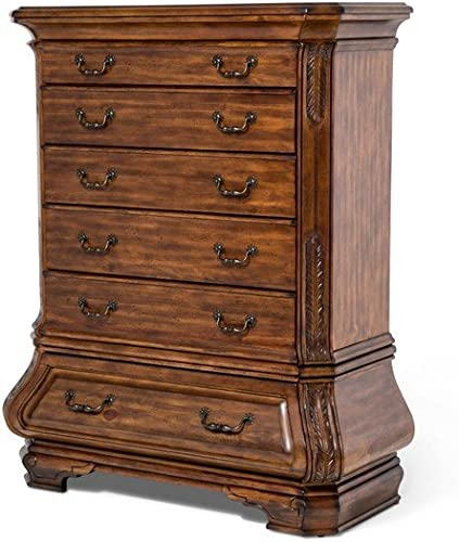 Michael Amini Tuscano 6 Drawer Chest, Melange