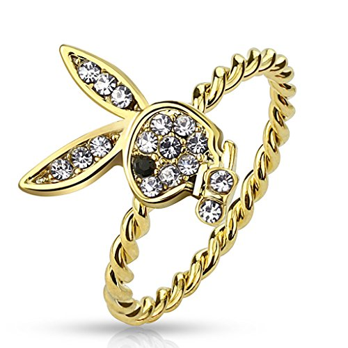 str-0471-brass-gold-ion-plated-gem-paved-playboy-bunny-rope-ring-9