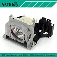 VLT-XD400LP Replacement Lamp for Mitsubishi XD400U XD450U XD460U XD480U/XD490U ES100 XD400 (by Artki)