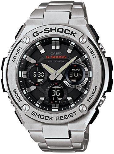 Casio G Shock S Steel Multi GST W110D 1AJF product image
