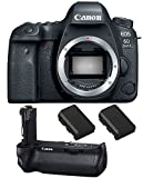 Canon EOS 6D Mark II DSLR Camera (Body Only), Canon BG-E21 Battery Grip, 2 Spare Batteries Review