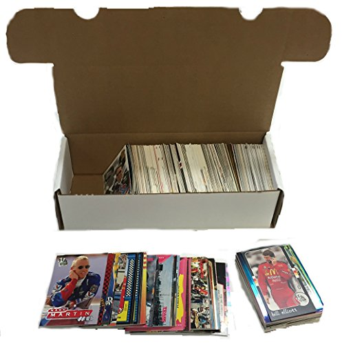 Nascar Racing Trading Card Collector Box w/ 500 Cards - Nice Mixture - Warehouse Sale!