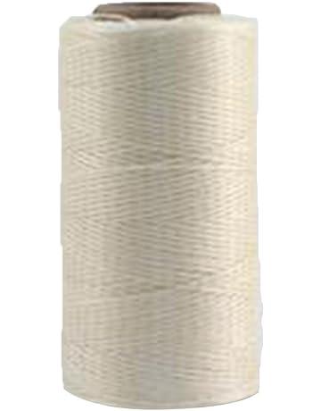 Cordón de hilo de cera, cordón de costura de lona encerado, pulsera de hilo