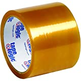 BOX USA BT90551 Clear Tape Logic Natural Rubber Tape, 2.2 mil, 3'' x 110 yd. (Pack of 24)