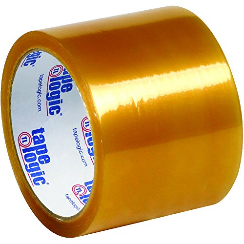 BOX USA BT90551 Clear Tape Logic Natural Rubber Tape, 2.2 mil, 3