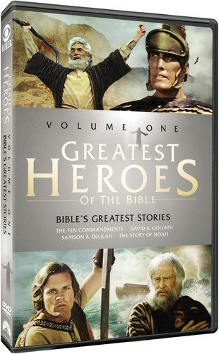Greatest Heroes of the Bible: Volume One - The Bible's Greatest Stories: The Ten Commandments / The Story of Noah / David & Goliath / Samson & ()