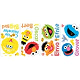 RoomMates RMK1866SCS Sesame Street Scribble Peel and Stick Wall Decals