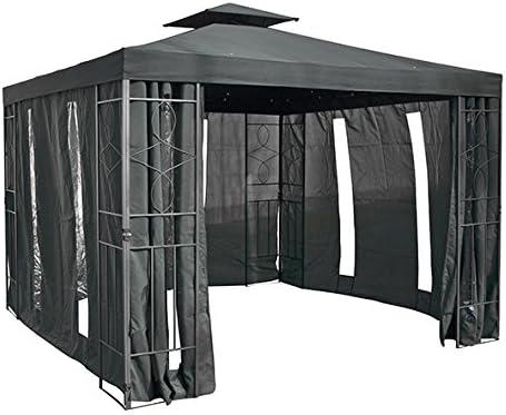 laterales para pérgola 62604 con ventana, antracita: Amazon.es: Jardín