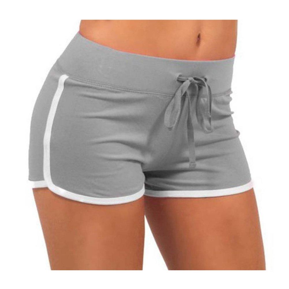 Y/&L Mujeres De Ejecuci/ón Cortos De Verano De La Aptitud De Jogging Pantalones Casual De Entrenamiento Pantal/ón C/ómodo