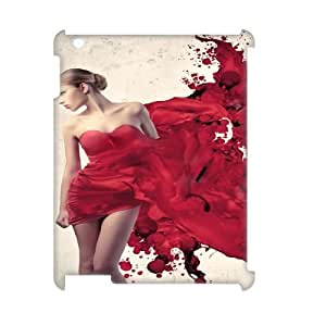Ipad2,3,4 Bloody 3D Art Print Design Phone Back Case Use Your Own Photo Hard Shell Protection HG074775