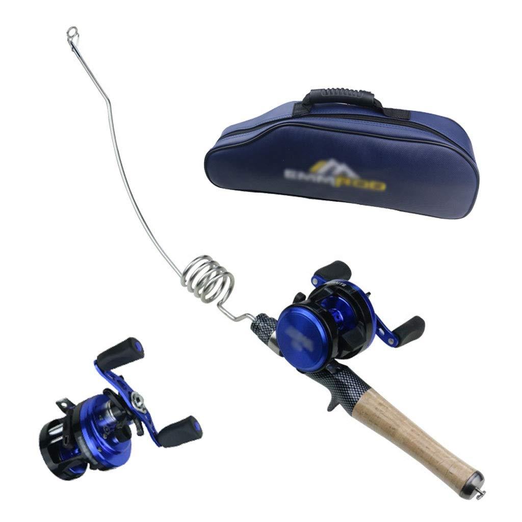 釣り道具ストレッチスーツ常に釣り、コルクハンドル海釣り釣り7 + 1釣りリールポータブルバッグ釣りギアセット   B07Q2BHXTF