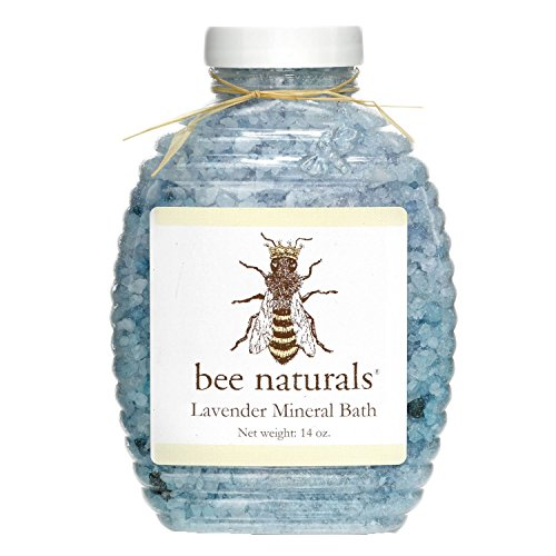 BEST Lavender Mineral Bath - Ease Muscular and Mental tension - Perfect Natural Therapy Aches and Pains Relief - Soothe Skin - All Premium Ingredients - Stress Relieving Bath-Salts - Energizing Bubble Bath
