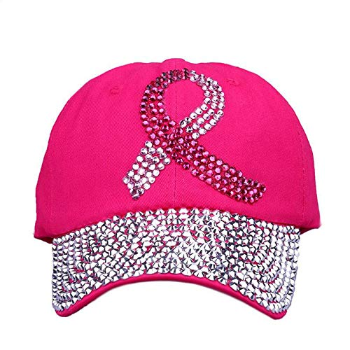 ZSOLOZ Baseball Caps Colored Ribbon Women Studded Sequins Baseball Cap Pink Swag Fashion Bling Casual Hat Female Outdoor Hats