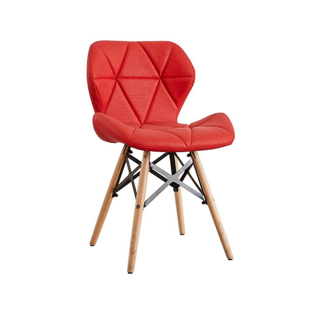 HETAO創造的なダイニングチェアの椅子の椅子のコンピュータチェアオフィスチェアテーブルと椅子の椅子研究大人成人28 * 50 * 73センチメートル]赤のアップグレードバージョン[2の販売から] B07C3C65KR] the upgraded version of the red