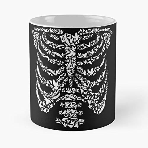 Skeleton Costume Halloween Party Gift Coffee/tea Ceramic Mug Father Day -