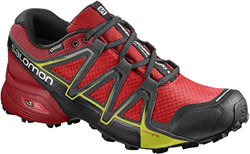 Salomon Men's Speedcross Vario 2 GTX Trail Running Shoes Red (Fiery Red/Barbados Cherry/Magnet Fiery Red/Barbados Cherry/Magnet) HhaEC