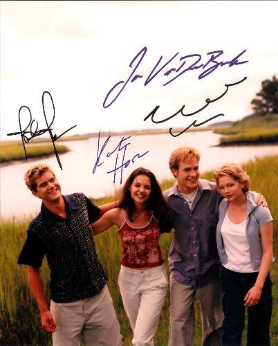 Dawsons Creek Cast Signed Autographed 8 X 10 Reprint Photo - Mint Condition