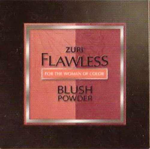 Zuri Flawless Blush Powder Duet - Peach Burst