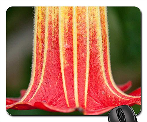 Mouse Pads - Flower Plant Angel Trumpet Datura Bell Shaped