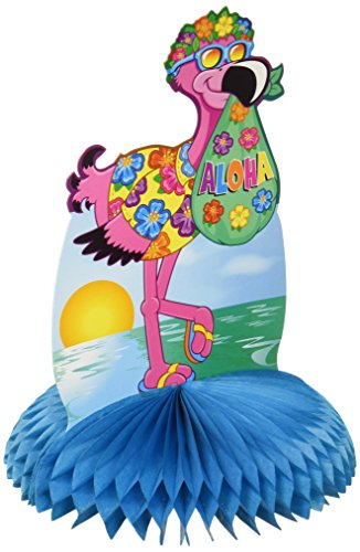 Flamingo Centerpiece Party Accessory (1 count) (1/Pkg) -