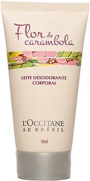 Leite Desodorante Corporal Flor de Carambola 50ml L'Occitane au Brésil 50ml