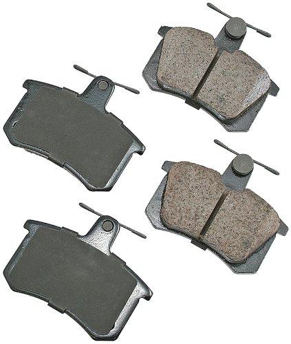 Cabriolet Brake Pad Set - Akebono EUR228 EURO Ultra-Premium Ceramic Brake Pad Set