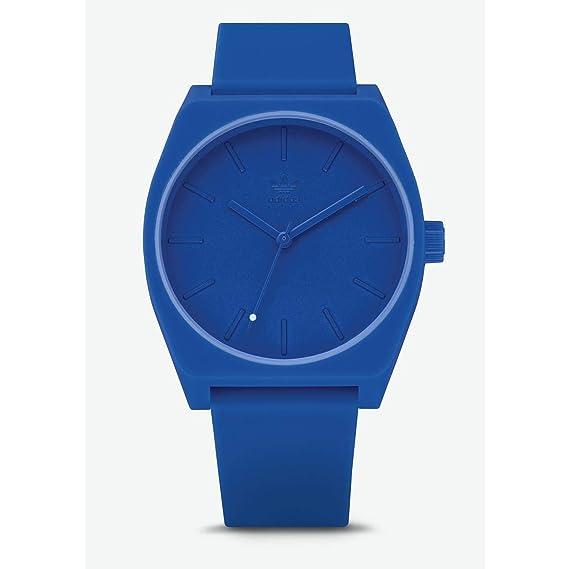 Adidas Reloj Analógico para Hombre de Cuarzo con Correa en Silicona Z10-2490-00: Amazon.es: Relojes
