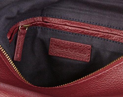 Marc O'Polo Accessories Marina Beutel, Borsa a spalla donna Rosso (Rot (Burgundy))