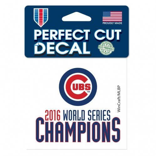 Chicago Cubs 2016 World Series Champions 4