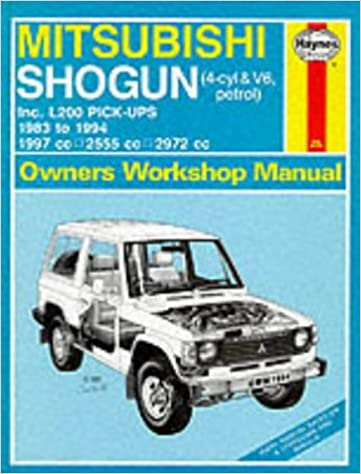 Mitsubishi Shogun and L200 Owner's Workshop Manual (Haynes